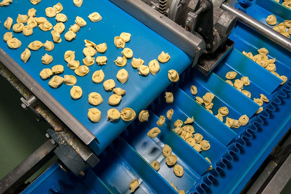 Nastri trasportatori per pasta: sposta in modo sicuro e rapido gli alimenti - Ricambio Nastro Trasportatore