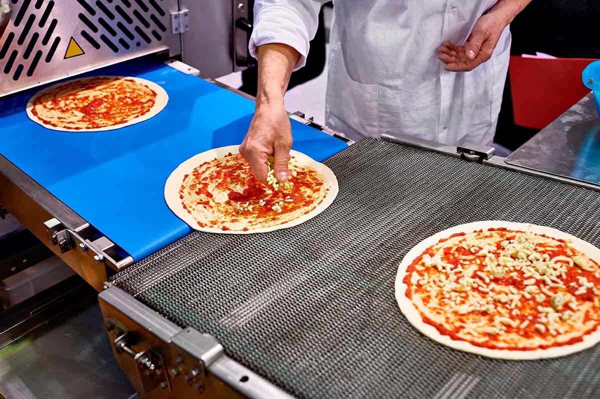 Nastri trasportatori per pizza - Ricambio Nastro Trasportatore
